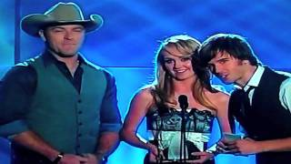 The biggest night of my life - CCMA's 2009