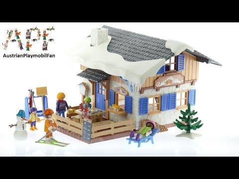 Vidéo PLAYMOBIL Family Fun 9280 : Chalet avec skieurs