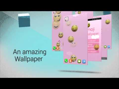 Vídeo do Emoji Live Wallpaper
