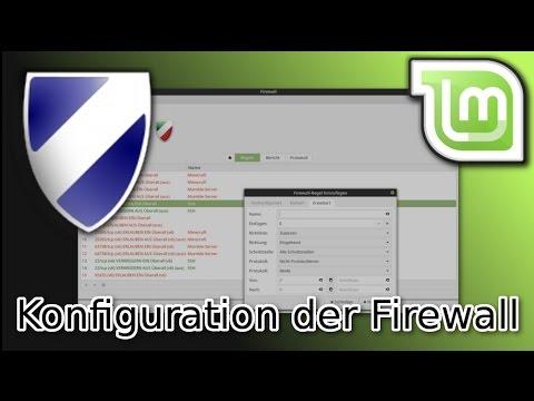 Linux Mint Tutorial: Firewall konfigurieren und einrichten [gufw]