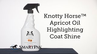 Knotty Horse™ Apricot Oil Highlighting Coat Shine Review