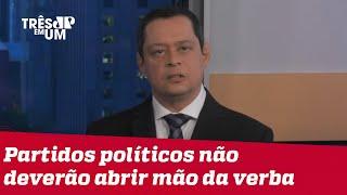 Jorge Serrão: Veto ao fundo eleitoral coloca Bolsonaro em armadilha política