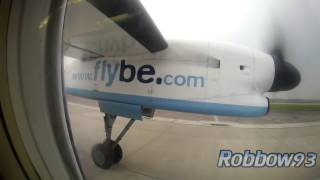 preview picture of video 'Evening Takeoff at Manchester, Flybe Dash 8!'