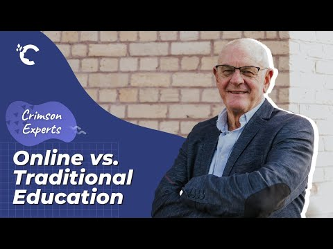 Online vs. Traditional Education with John Morris   Crimson Experts Interview Series Ep. 3