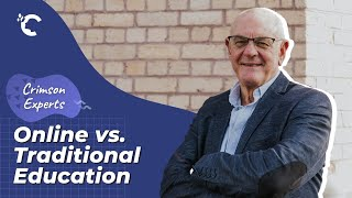 youtube video thumbnail - Online vs. Traditional Education with John Morris   Crimson Experts Interview Series Ep. 3