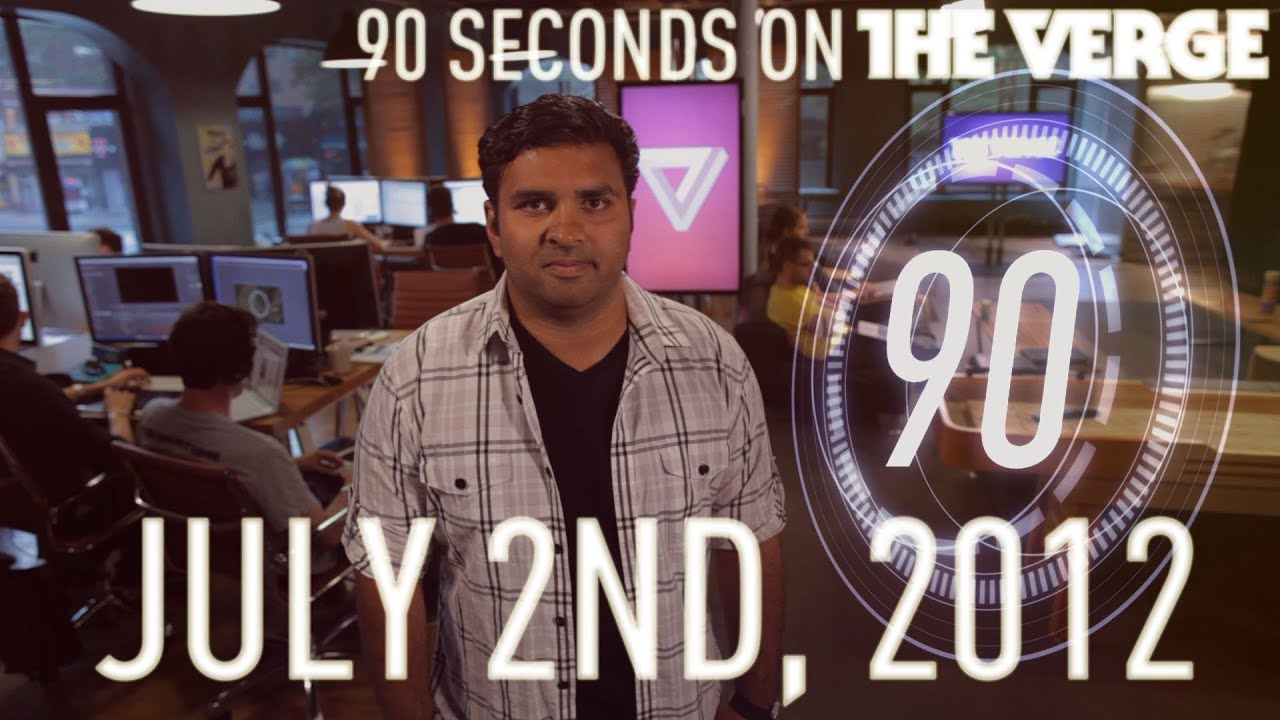 Sony buys Gaikai, Windows 8 upgrade pricing, and more - 90 Seconds on The Verge: July 2nd, 2012 thumbnail