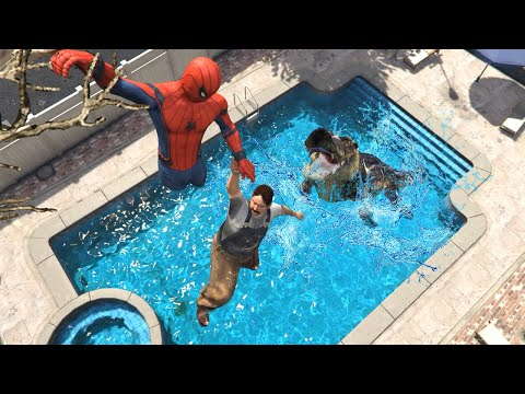 GTA 5 Crazy Ragdolls Spiderman ep.50 (Funny Moments)