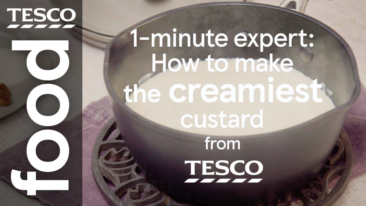 How to make custard