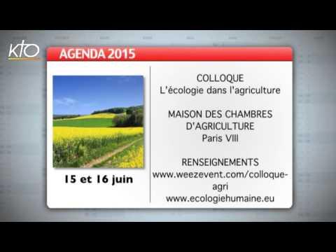 Agenda du 1er juin 2015