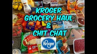 KROGER GROCERY HAUL | I NEED SOME FOOD! 😂