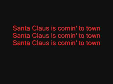 Jackson 5- Santa Claus Is Coming To Town (lyrics)