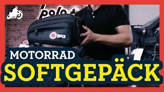 Motorrad Softgepäck: Gepäcksysteme und Befestigungsmöglichkeiten