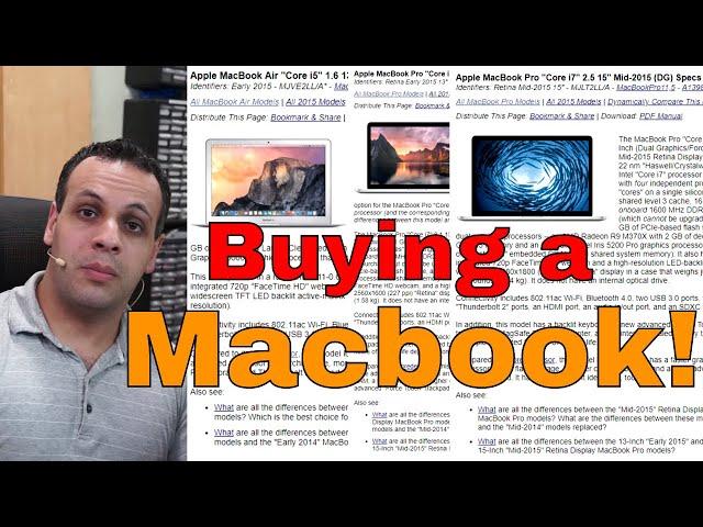 Macbook buyer's guide: Louis' recommendation list