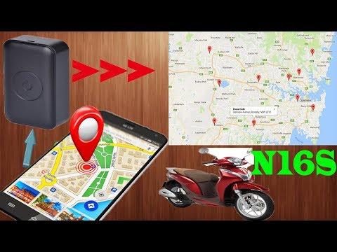 Định Vị GPS|| Thiết Bị Định Vị Xe Máy N16s - Định Vị Chính Xác - Âm Thanh Rõ Nét