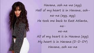 Gambar cover Camila Cabello ft.Daddy Yankee-Havana Remix (Lyrics)