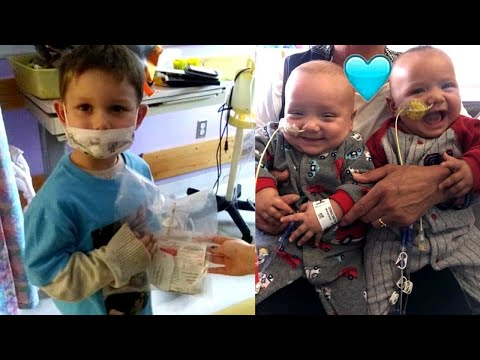 4-Year-Old 'Superhero' Donates Bone Marrow to Save Brothers