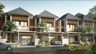 Video Desain Perumahan Modern 2 Lantai Pertamina di   Kutai Kartanegara, Kalimantan Timur