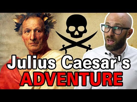 Julius Caesar and His Pirate Adventure