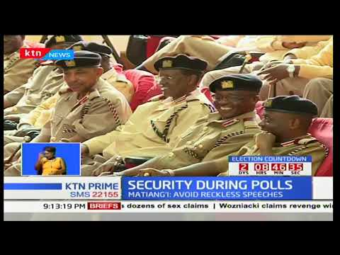 Acting Interior CS Fred Matiang'i assures Kenyans of tight security during fresh polls