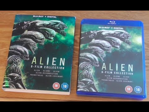 Unboxing Alien 6-Film Blu-Ray Collection