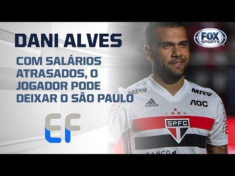 DANIEL ALVES PODENDO DEIXAR O SÃO PAULO?; Veja detalhes