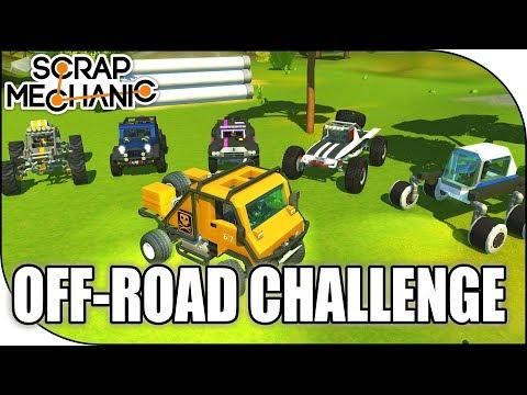 ULTIMATE OFF-ROAD TRUCKS, Workshop Wednesday, Scrap Mechanic #148