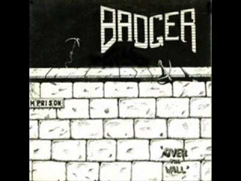 Badger - Over The Wall online metal music video by BADGER