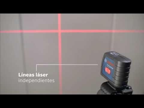 Nivel láser de líneas cruzadas Bosch GLL 2 15 + Soporte BM3 + Maletín