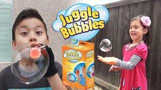 JUGGLE BUBBLES - Let's Pop Some Magic Bubbles!