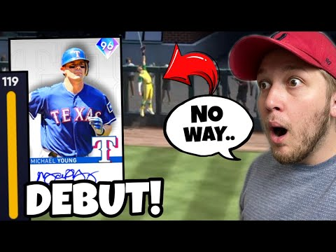 my opponent ROBBED ME while debuting *NEW* 96 MICHAEL YOUNG.. MLB The Show 21