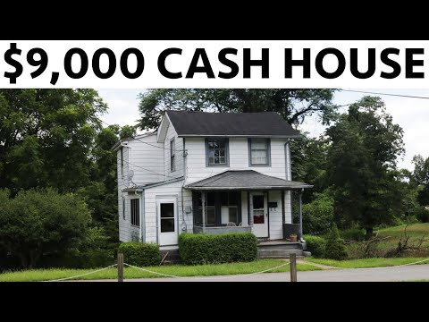 $9,000 HOUSE - TEARING DOWN HALF THE HOUSE - #19