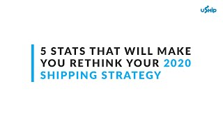 Ultimate SMB Shipping Strategy [2020]: Small and Mid-Sized Business Tips and Tricks - uShip