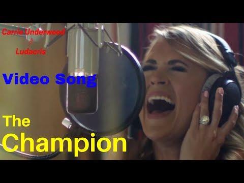 Carrie Underwood  The Champion  ft  Ludacris