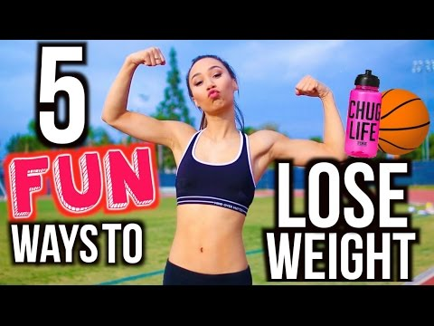 Video 5 Ways To Lose Weight FAST! Fun Workout Routines | MyLifeAsEva