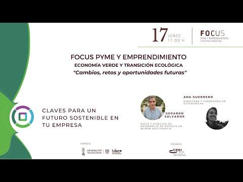 Claves para un futuro sostenible en tu empresa - Focus Pyme y Emprendimiento Economía verde[;;;][;;;]