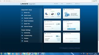 How to configure Cisco linksys Smart  wifi router as access point EA6500 Series