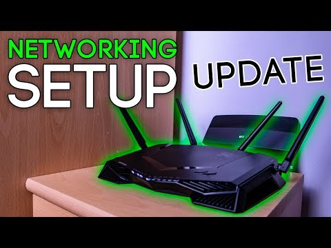 Networking Setup Update – Mini Vlog