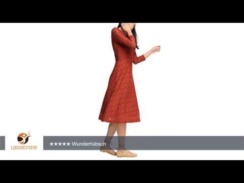 edc by ESPRIT Damen Kleid 036cc1e001-mit Unterlegter Spitze | Erfahrungsbericht/Review/Test