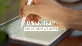 Which iPad should you buy - Analysis of iPad Pro vs iPad Air vs iPad Mini vs iPad