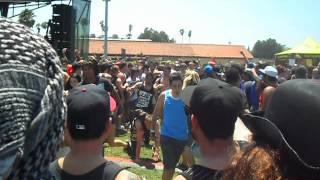 Everytime I Die Pit Pomona Warped Tour 2012 6/22/12