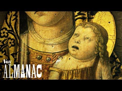 Děti na středověkých malbách