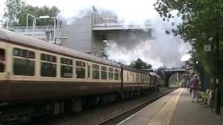 preview picture of video '6201 Princess Elizabeth Steaming Thought Wavertree 16/08/2009'