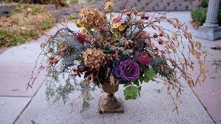 Creating a Beautiful Winter Flower Arrangement