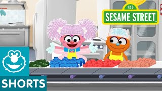 Sesame Street: Making School Lunches | Abby's Amazing Adventures
