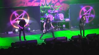Anthrax - In My World - Santiago, Chile - 10/05/2013 - Teatro Caupolican