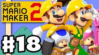 Multiplayer Co-op and Versus! - Super Mario Maker 2 - Gameplay Walkthrough Part 18 (Nintendo Switch)
