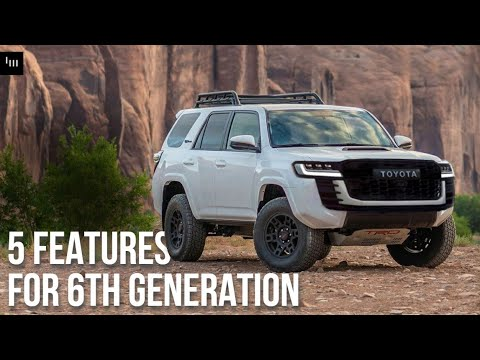 5 Things The 2023 Toyota 4Runner [Should] Get