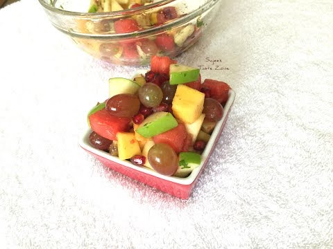Fruit Chat | Spicy and Tangy Fruit Salad
