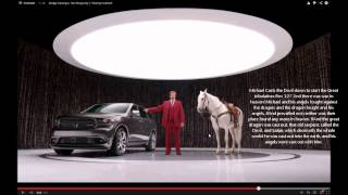 Ron Burgandy  Dodge Durango Commercial. Illuminati Freemason Symbolism.