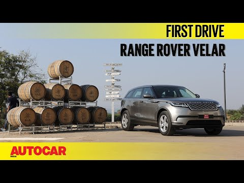Range Rover Velar | First Drive | Autocar India